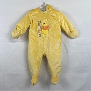 Disney Baby Winnie the Pooh Snowsuit 6/9 Months